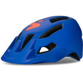 Sweet Protection Dissenter Helmet Junior matte race blue/cody orange